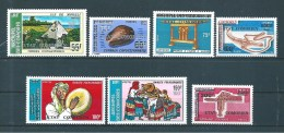 Comores Timbres De 1975  N°122 A 128  Neuf ** - Komoren (1950-1975)