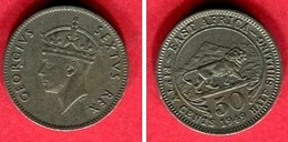 50  CENT 1949  ( KM 30) TB  2 - British Colony
