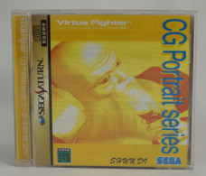 Sega Saturn Japanese : Virtua Fighter CG Portrait Series Vol.7 Shun Di GS-9070 - Sega
