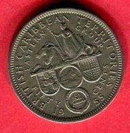 50 CENTS  1955  ( KM 7) TB  3 - Caraïbes Orientales (Etats Des)