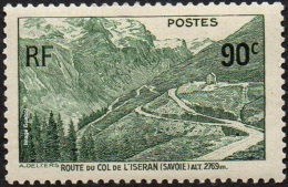 France - N°  358 (*) Ouverture De La Route Du Col De L Iseran - Nuevos