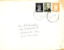 TURQUIE. N°808A & 809 Sur Enveloppe Ayant Circulé. Atatürk. - 1921-... Republiek