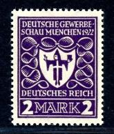Deutsches Reich MiNr. 200 B Postfrisch/ MNH Infla Geprüft (RM91 - Germany