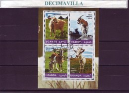 L795, UGANDA, 2014, CABRAS - Stamps