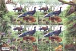 Taiwan 2014 Conservation Birds Stamps Sheet-Swinhoe Pheasant Mother Bird Forest Fern Squirrel Fungi Mushroom Fruit