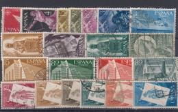 0384 Año 1956 Completo Usado - Años Completos