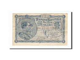 Belgique, 1 Franc, 1920, KM:92, 1920-12-21, TTB - [ 2] 1831-... : Belgian Kingdom