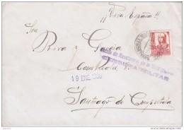 GUERRA CIVIL, DE MALNAVALMORAL DE LA MATA A SANTIAGO, CENSURA DE NALVAMORAL - 1931-50 Brieven