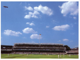 (548) UK _ London And Lord's Cricket Ground (with Zeppelin) - Cricket
