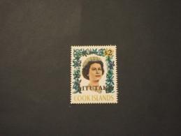 AITUTAKI 1972 REGINA 2 D. -  NUOVO(++) - Aitutaki