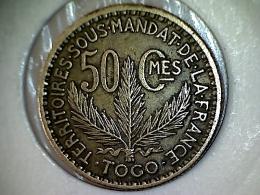 Togo 50 Centimes 1925 TTB - UNC - Togo