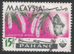 Pahang (Malaysia). 1965 Orchids. 15c Used SG 92 - Malaysia (1964-...)