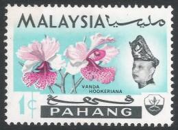 Pahang (Malaysia). 1965 Orchids. 1c MH SG 87 - Malaysia (1964-...)
