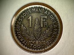 Togo 1 Franc 1924 - Togo