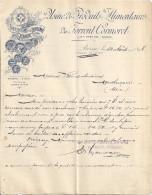 USINE DE PRODUITS ALIMENTAIRES DU TORRENT CORMORET   JURA BERNOIS-SUISSE 1898 - Switzerland