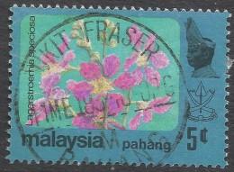 Pahang (Malaysia). 1979 Flowers. 5c Used SG 113 - Malaysia (1964-...)