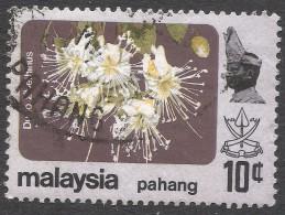 Pahang (Malaysia). 1979 Flowers. 10c Used SG 114 - Malaysia (1964-...)
