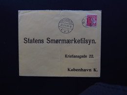 Cover Denmark Danmark Bronderslev Stenum Gedved Statens Smormaerketilsyn To Kobenhavn 1941 - Postzegels