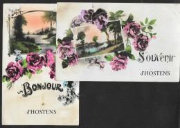 HOSTENS 2 Fantaisies Souvenir Et Bonjour () Gironde (33) - Altri Comuni