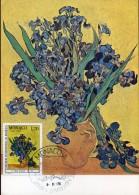 8384 Monaco, Maximum 1978  Painting Of Vincent Van Gogh, Iris, The Irises - Arts