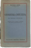 L143-GEOMETRIA INTUITIVA - FRANCESCO SEVERI - VALLECCHI  1936 - Matematica E Fisica