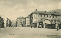 Dép 73 - Albertville - L'école Normale - état - Albertville