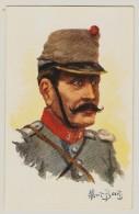 Lot De 14 CPA Illustrateur Albert Beerts - Buste De Militaire 1914 1915 -  Visé Paris N°  - A H KATZ 14 Boulevard Barbès - Beerts, Albert