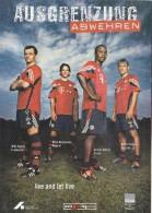 Soccer Football Bayern Munchen - Sagnol Hargreaves Kuffour Kovac - Fútbol