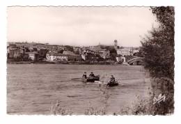 33 Castillon Sur Dordogne La Dordogne Edit Renaud N°4 Carte Non Voyagée Barque Rameur - France
