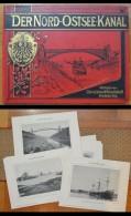 Raccolta 16 Tavole Fotografiche Der Nord-Ostsee-Kanal. Verlag Von Constabel & Knackstedt Hamburg. 1891 - Unclassified