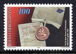 BOSNIA & HERCEGOVINA (Sarajevo) 1996 History: Dubrovnik Privileges MNH / **.  Michel 58 - Bosnia And Herzegovina