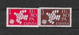Spanje 1961 Y&T Nr° 1044/45 ** - 1961