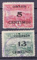 COSTA RICA - 1928 - Sc. Nr(s) 149 En 150  Of  Y&T Nr(s) 148 En 149- Usado/gestempeld/obliteré/Used/gebraucht - ° - Costa Rica
