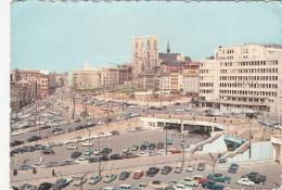 BELGIUM - Bruxelles 1960's - Banque Nationale - Collegiale Sainte Gudule - Air-terminus Sabena - Lanen, Boulevards