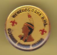 49356-Pin's.Webelos Camp PML.Goshen Scout Camp.indien.. - Associations