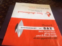 Gaz Changement De Gaz - Electricité & Gaz