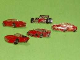 Pin's / Automobiles : Lot De 5 Pin's Ferrari  TB1(13a) - Ferrari