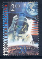 BOSNIA & HERCEGOVINA (Sarajevo) 1999  Moon Landing MNH / **.  Michel 164 - Bosnia And Herzegovina
