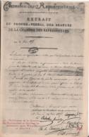 Lettre 1815 Apres Waterloo - Geschiedenis