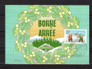 """Carte Maximum De 2001 N° YT 3437 """" BONNE ANNEE """". En Parfait état. CM - Cartas Máxima"""
