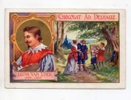 Chromo - Chocolat Adolphe Delhaize - Lucas Van Uden - Sonstige