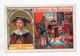 Chromo - Chocolat Adolphe Delhaize - Bernard Van Orley - Sonstige