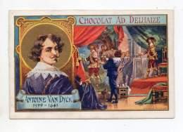 Chromo - Chocolat Adolphe Delhaize - Antoine Van Dyck - Sonstige