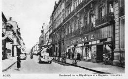 AGEN BOULEVARD DE LA REPUBLIQUE Et MAGASINS PRINTANIA - Agen