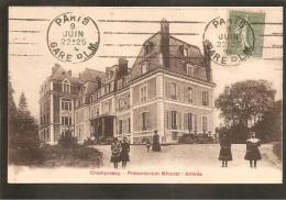 91 Champrosay. Préventorium Minoret-Arrivée - France