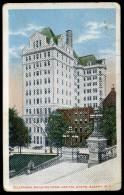 1919 CARTOLINA VIAGGIATA// ALBANIA, TELEPHONE BUILDING FROM CAPITOL STEPS, ALBANY. N.Y. - Albanie