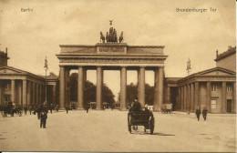 ALLEMAGNE - BERLIN  BRANDENBURGER TOR    (2) - Brandenburg
