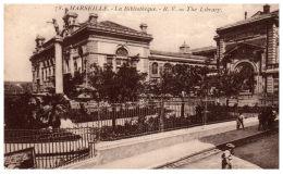 THEME - BIBLIOTHEQUE  - La Bibliothèque De Marseille - Bibliothèques