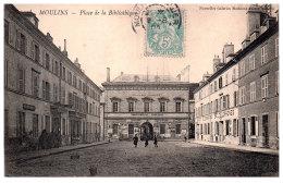 THEME - BIBLIOTHEQUE  - La Bibliothèque De Moulins - Bibliothèques