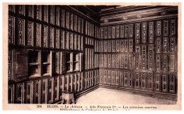 THEME - BIBLIOTHEQUE  - La Bibliothèque Du Château De BLOIS - Bibliothèques